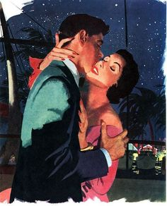 Illustration by Jon Whitcomb for the story The One I Love.