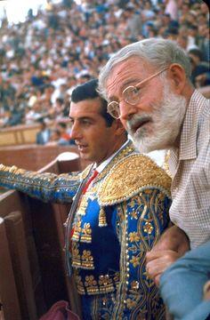 admixtus - one-photo-day:   Ernest Hemingway and Antonio...