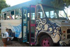 Short Bus Party in Constant Creation felton, Berzerker Painting live!