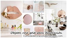 #Decoración_de_interiores #40_Objetos_rose_gold_para_decorar_tu_casa 40 Objetos rose gold para decorar tu casa: 40 Objetos rose gold para…