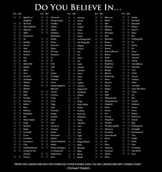 How can you be an atheist?