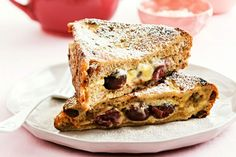 Bring a retro brunch, like French toast, back into fashion with a few gourmet tweaks. First, start by using a good-quality fruit bread likeTip Top Café Brioche style with Fruit rather than a plain loaf. Dip two pieces of the bread in a mixture of sweetened mascarpone, before filling sandwich-style with beautiful black cherries. Keeping the sandwich intact, dip it into the egg and milk mix before frying. We guarantee that once you try French toast like this, you'll never go back.