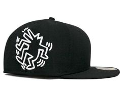 KEITH HARING x NEW ERA 59Fifty Fitted Baseball Cap