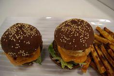Pão de Hambúrguer Australiano