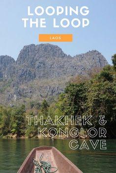 Taking the motorcycle loop in Thakhek and seeing the incredible #konglorcave