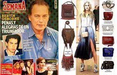 La revista Semana recomienda nuestro bolso bandolera Arizona en color marrón como tendencia. ¡Nos encanta! #bolso #moda #MadeinSpain #brochbroch