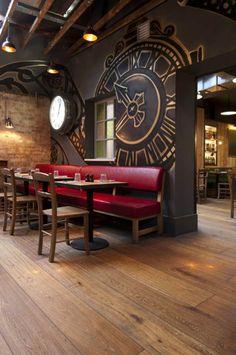 restaurants 21 Epic & Successful Restaurant Interior Design Examples Around the World Coffee Shop Design, Cafe Design, Design Bar Restaurant, Cheap Dorm Decor, Cafe Style, Victorian Decor, Restaurant Interior Design, Barbacoa, Home Decor Kitchen