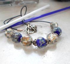 Lampwork Necklace Handmade Necklace Handmade by CandanImrak