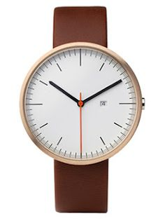 Uniform Wares 200 Series Rose Gold Watch. Hard to tell time, but tres cute