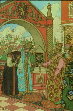 Иллюстрации Бориса Зворыкина к русским народным сказкам - Все будет хорошо!