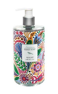 Morning Glories Liquid Hand Soap