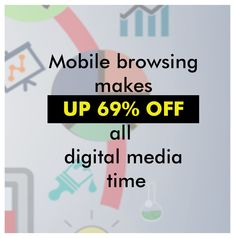 People around the world are spending more and more time on mobile devices. If your site isn't optimized for mobile, you'll be missing out on 69% of the potential traffic you could be receiving.  #digitalmarketing #marketing #socialmediamarketing #socialmedia #seo #business #branding #marketingdigital #onlinemarketing #contentmarketing #entrepreneur #marketingtips #advertising #marketingstrategy #startup #smallbusiness #digital #webdesign #b #design #graphicdesign #instagram #entrepreneurship