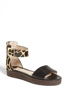 Seeing this style a lot - looks very walkable, finally. 10 Crosby Derek Lam 'Dyls' Sandal | Nordstrom