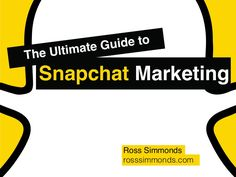 In this Snapchat Marketing Guide, we're going to look at everything you need to get started with Snapchat along with some strategies and insights that will hel…
