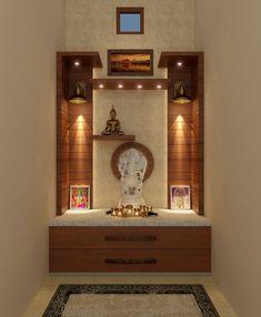 Living Room Partition Design, Room Partition Designs, Pooja Room Door Design, Home Room Design, Room Interior, Interior Design Living Room, Temple Design For Home, Mandir Design, Bedroom Cupboard Designs