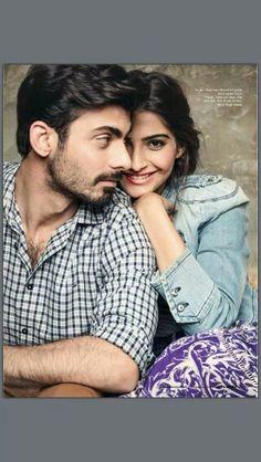 Pakistani celeb, Fawad Afzal Khan & Indian Film actress Sonam kapoor