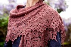 Knitting lace is a leap of faith! If you haven't tried it before, you won't believe how a row of yarn overs, K2togs and PSSOs can produce such delicate and beautiful results! Whether you're new to lace knitting or in need of a lace challenge, we've chosen three stunning lace shawls for you to knit in Special Merino Lace [&hellip