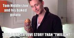 haha still a better love story than twilight, tom and his potato