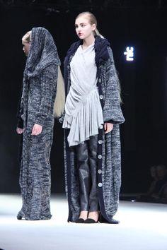 unpolished sapphire: Istituto Marangoni - Graduate Fashion Week - Womenswear Nicole Pacini