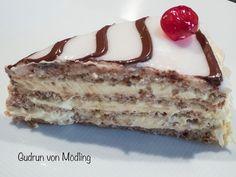 Esterházytorte - Gudrun von Mödling Vanilla Cake, Tiramisu, Ethnic Recipes, Desserts, Food, Pastries Recipes, Chocolate Pies, Foods, Essen