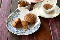 Grain Free Gluten Free Hot Cross Bun Spiced Muffins. via @themmsisters