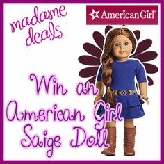 American Girl Doll Giveaway #giveaway #americangirl #dolls
