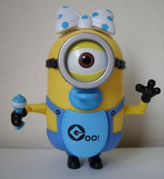 *BABY MINION ~ Despicable Me II, 2013