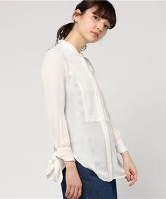 【ZOZOTOWN 送料無料】3.1 Phillip Lim(スリーワン フィリップ リム)のシャツ/ブラウス「3.1 PHILLIP LIM デザインブラウス」(207-3.1-P161-2211SGG)をセール価格で購入できます。 Tops, Women, Fashion, Moda, Women's, Fashion Styles, Woman, Fasion