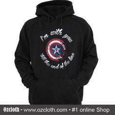 Captain America Quote Hoodie