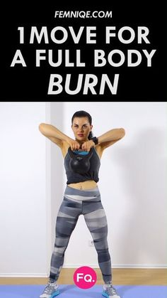 7 Minute Kettlebell Workout Routine (Burn Fat & Get Toned With this workout you're going to hit your upper and lower body simultaneously. It's a complete full body workout that will take you out of your comfort zone. Full Body Workouts, Kettlebell Workout Routines, Hiit, At Home Workouts, Kettlebell Cardio, Kettlebell Challenge, Upper Body Kettlebell Workout, Kettlebell Training, Home Exercise Routines