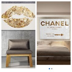 Chanel Wall Art from hautelook.com