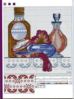 Cuadros De Punto De Cruz Para El Bano.23 Mejores Imagenes De Pubto De Cruz Embroidery Patterns