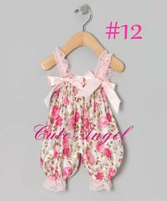 Cute Princess white and Pink Floral Print Baby by fashionfixes4u, $13.95