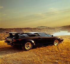 Lamborghini Countach - Makes me feel old knowing that this is now a classic.