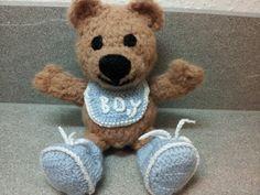 Teddy zur Geburt von fairytaledust auf DaWanda.com
