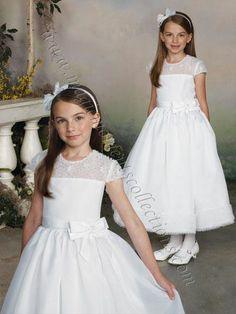 Joan Calabrese 112315 Flower Girl / Communion Dress