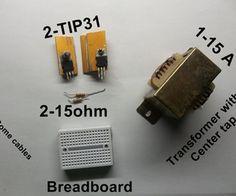 Simple Inverter. 12v DC to 220v AC.