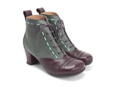 """Imagine your favourite bootie - the Giulia boot, but better! So bring on the tights, skinny jeans, or the dress you've been waiting to wear because the perfect accompaniment is finally here. The soft Baccarat Patent leathers, soft rubber soles, and with a 2.5"""" (5.5cm) leather wrapped heel; The Bartoli is so comfortable you almost, almost... feel guilty for skipping school so early in the semester. Your Love Makes Me Sing.Half sizes available.Instagram @fluevog #vog_bartoli"""