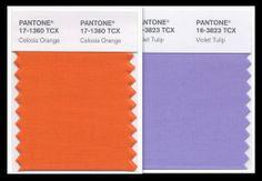 2 Good Claymates: Pantone Spring 2014 Fashion Color Celosia Orange