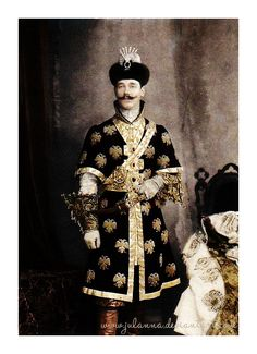 "Brother of Tsar Nicholas II Grand Duke Mikhail Alexandrovich, circa 1903 (via Costume Ball in the Winter Palace.  ""And Michael lost the diamond clip! It must have fallen off his cap while he was dancing. My mother and he were in despair - the clip being one of the crown jewels. All the halls at the palace were searched that very night. At dawn the detectives searched from basement to attic. The diamond clip was never found. """