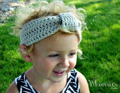 Crochet Headband Crochet Ear Warmer Turban by WhimsiesCrochet, $5.00
