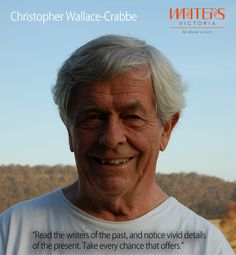 Chris Wallace-Crabbe on poetry http://writersvictoria.org.au/what-s-on/event/a-month-of-poetry/