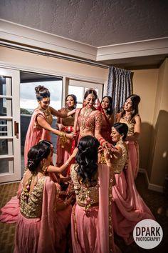 Indian bridesmaid dress