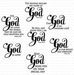 Inspired: God Mini Stamp Set: Papertrey Ink Clear Stamps Dies Paper Ink Kits Ribbon