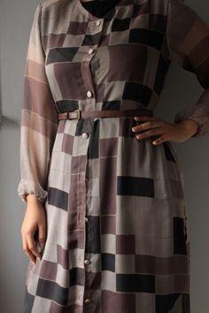 Chiffon Kimono/ jacket/ Printed Chiffon /Chiffon by SusVintage