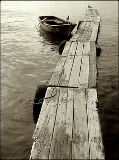 The weathered dock with many a story to tell...