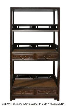 Chinese Chicken Feather Wood Bookshelf Display Curio Cabinet Avs628 by Display Cabinet & Stand, http://www.amazon.com/dp/B004YMR2GA/ref=cm_sw_r_pi_dp_2iWssb0G0QWXV
