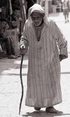 Essaouira Elder, Morocco