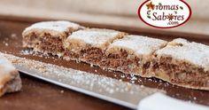 Aromas e Sabores: Palha italiana de doce de leite e biscoito de chocolate