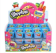 SHOPKINS SEASON 5-2 PACK CASE OF 30 USA FACTORY SEALED 60 total NIB IN STOCK